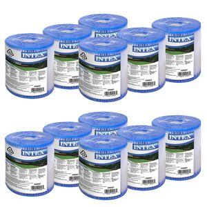 Intex Filterkartuschen Set Typ H, 12 Stück