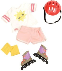 Our Generation -Inliner & Outfit für Puppe 46 cm