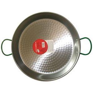Vaello PLAT A Paella Acier D.50CM Bratpfanne, 50 cm max. Durchmesser, Edelstahl