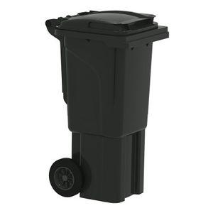 Bauer Mülltonne 60 l Schwarz