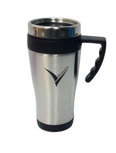 Edelstahl Thermobecher Isolierbecher Coffee to Go Kaffeebecher 450ml, mit Griff