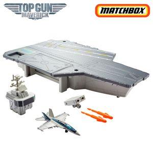 Matchbox Top Gun Flugzeugträger Spielset