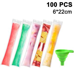 HLHBDSM  Wassereis / Eissticks Mix,100 Stück Stangeneis, Wasser Eis Drinks in verschiedenen Geschmacksrichtungen