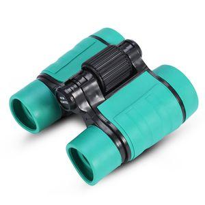 Teleskope Kinderfernglas Set 4x30 Vergrößerung Augenschutz Binocular Fernglas Set Spielzeug Geschenk für Kinder Erwachsene