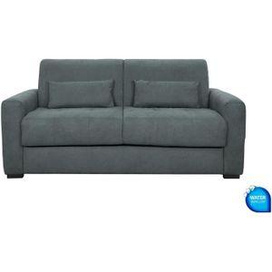 3-Sitzer-Schlafsofa - Anthrazit - L204 x T102 x H95 cm - EUREKA
