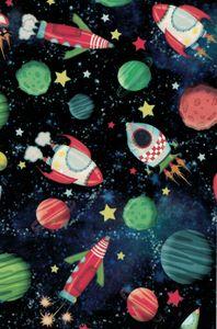 Geschenkpapier Kosmos 70cm x 2m, Rolle