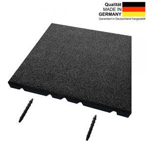 Fallschutzmatte SRP | ET 45 mm | 50x50 cm | anthrazit