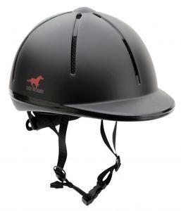 Red Horse reitermütze Rider Junior schwarz Größe XS/S/S