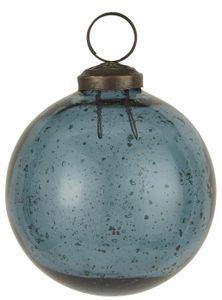 IB Laursen ApS - Weihnachtskugel Glas petrol