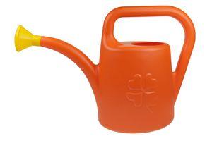 Gießkanne Blumengießkanne Kunststoff Gartengießkanne 4,5L IKON5 Orange