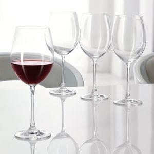 Nachtmann Vorteilsset 2 x  4 Glas/Stck Rotwein Pokal 50/50 Vivendi  92035 und Gratis 1 x Trinitae Körperpflegeprodukt