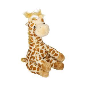 3x weiche Giraffe Bär 18 cm groß in Hellbraun Kuscheltier Giraffe mit Tasche