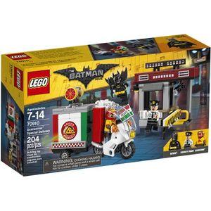 LEGO 70910 Scarecrows Speziallieferung  LEGO Anzahl Anleitungen: 1, Anzahl Minifiguren: 3, Anzahl Teile: 189, Altersberatung: 7+, Veröffentlicht in: 2017, Gewicht: 0.292 KG, Zahl: 70910-1, EAN: 5702015869843, UPC: 673419266246, Thema: LEGO The LEGO Batman Movie