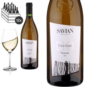 12er Karton 2019Pinot Grigio delle Venezie von Savian Vini - Weißwein