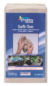 Soft-Ton weiss 1000g lufthärtend / brennbar 1040°C