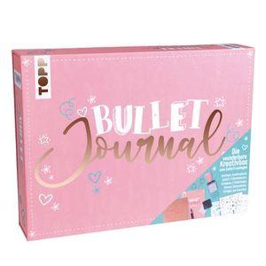Bullet Journal - Die wunderbare Kreativbox: Rundum-Set zum Bullet Journaling mit Anleitungsheft, Notizbuch zum Eintragen, Gelschreiber, Schablone, Stickern, Paper-Clips, Stempel und Stempelkissen