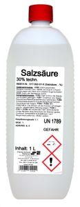 Salzsäure 30/ technisch 1 Liter