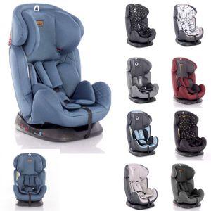 Lorelli Kindersitz Galaxy Gruppe 0+/1/2/3 (0 - 36 kg) Kissen Reboard verstellbar blau