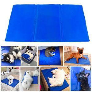 Kühlmatte für Hunde und Katzen,Kühlmatte,90 x 50 cm, Haustier-Kühlmatte, für Hunde und Katzen zur Regulierung der Körpertemperatur Cooling Pad Hundematte Kühldecke für Hunde und Katzen,Haustiermatte