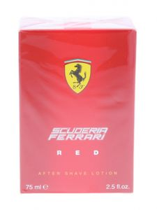 Ferrari Scuderia Red 75 ml Aftershave Lotion After Shave Lotion Aftershave