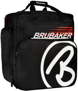 BRUBAKER Super Champion Skischuhtasche Helmtasche Skischuhrucksack Rot Schwarz