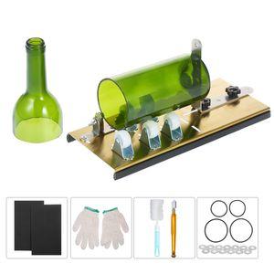 Glasschneider für Flaschen, 5 verstellbarer Radschneider zum Schneiden von Wein, Bier, Whisky, Champagner