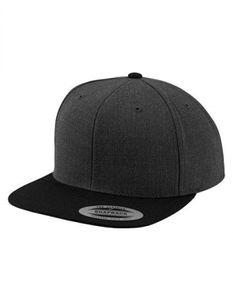 Classic Snapback 2-Tone Cap - Farbe: Charcoal/Black - Größe: One Size