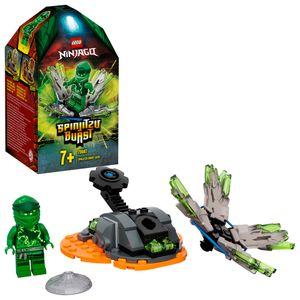 LEGO 70687 NINJAGO Lloyds Spinjitzu-Kreisel Set, grün