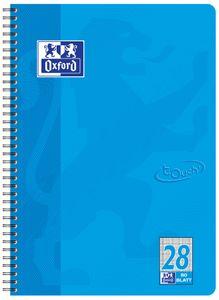 Oxford Collegeblock Touch A4+ kariert 80 Blatt meerblau