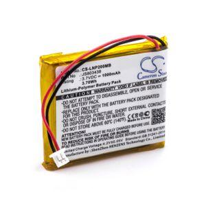 vhbw Akku kompatibel mit Luvion Platinum 2 Babyphone Babytalker (1000mAh, 3,7V, Li-Polymer)