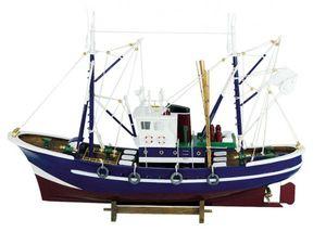 Großer Fischkutter, Fischerboot, Zweimast Kutter Schiffsmodell Modellboot