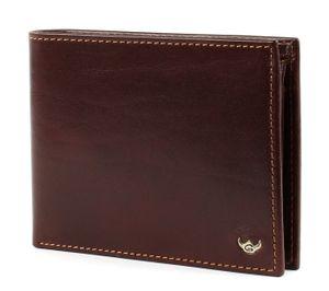 Golden Head Colorado RFID Protect Billfold Coin Wallet Tobacco