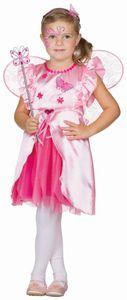 Kinder Kostüm Fee Lea Prinzessin Kleid Karneval Fasching Gr. 116