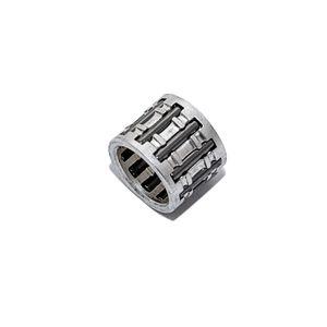 Nadellager für Ø 12mm Kolbenbolzen, Ø 12x16x13mm Lagerkäfig versilbert für Simson S50, S51, S53, S70, S83, SR4-1 Spatz, SR4-2 Star, SR4-3 Sperber, SR4-4 Habicht, SR50, SR80