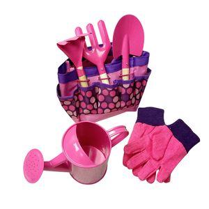 Gartenwerkzeug-Set für Kinder Spielzeugschaufel Gartenset mit Tragetasche LZX90806740PK