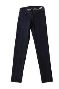 Cheap Monday Damen Jeans Low Spray Super Skinny W28/29 Low Rise Dunkelblau #CC63