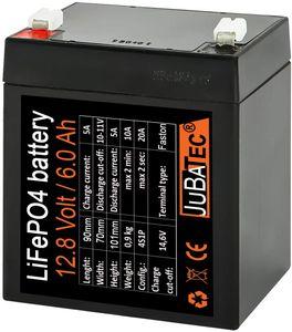 LiFePO4 Akku 12V 6Ah mit BMS (Batterie Management System) und Hardcase