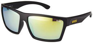 UVEX LGL 29 Brille black mat/yellow