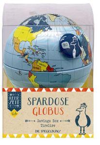 Die Spiegelburg Spardose Globus Reisezei