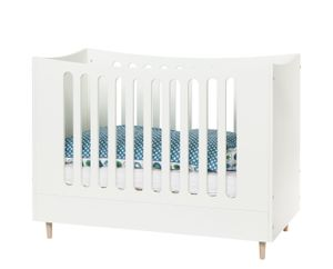 Babybett 60x120cm Weiß
