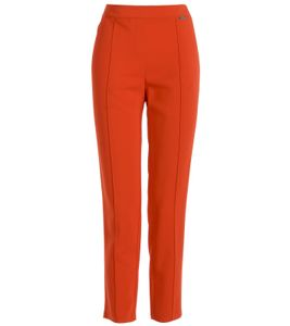 TUZZI 7/8-Hose casual Damen Business-Hose mit Reißverschluss Rot, Größe:38