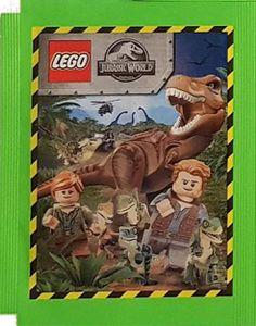 Blue Ocean Jurassic World Lego Sticker (2020) - 1 Tüte