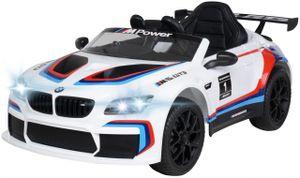 Kinder-Elektroauto BMW M6 GT3 (Weiß)
