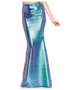 Meerjungfrauen Rock als Kostümzubehör Größe: S