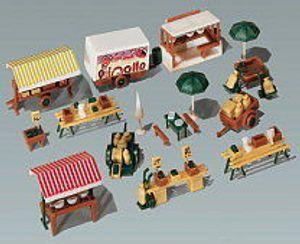 N Faller Wochenmarkt - Bausatz