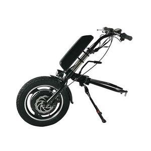 "Theebikemotor 36V500W 16"" Rad Elektro-Rollstuhl Handcycle Anlage, Elektro-Rollstuhl Umrüstsatz mit Frontleuchte 13Ah Akku Unterrohr-Typ"