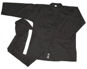 Karateanzug Godan schwarz Größe - 170