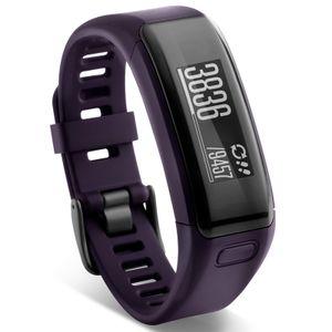 Garmin 010-01955-01 Vivosmart HR Activity Tracker mit Herzfrequenzmessung Regular Lila