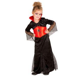 dressforfun Mädchenkostüm Gräfin Dracula - 128 (8-10 Jahre)