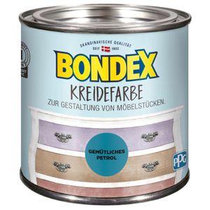 Bondex Kreidefarbe Gemütliches Petrol Shabby-Chic-Look, 500 ml